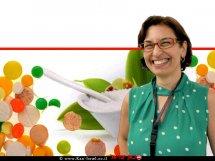 פרופ' מאשה ניב מן 'המכון לביוכימיה, מדעי המזון והתזונה' ברקע ממתיקים מלאכותיים | עיבוד ממחושב: שולי סונגו©