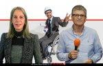 פליצ׳ה פלד יושב ראש תנועת אוֹמֶץ והגב' אילנה דלפרי יושבת ראש הצוות החברתי באומץ, ברקע: מהנדס נכה | עיבוד צילום ממחושב: שולי סונגו©