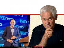 גדעון רייכר בטור אישי  ברקע: בני גנץ, צילום: מטה כחול לבן, פייסבוק  עיבוד צילום ממחושב: שולי סונגו©