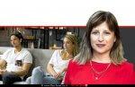 עידית הראל שמש, ממובילות המאבק למען שיקום נשים וגברים מהזנות ברקע: מור לרמן ומאור פינקלשטיין בצילום מהסדרה 'חתונה ממבט ראשון' בערוץ קשת | עיבוד צילום: שולי סונגו ©