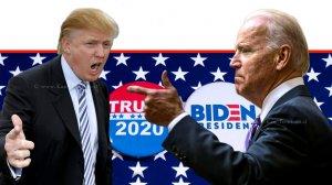 ג'ו ביידן נציג המפלגה הדמוקרטית לבחירות מול הנשיא טראמפ | עיבוד צילום: שולי סונגו ©