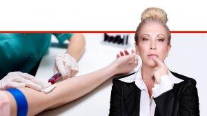 שרית שי בטור אישי על ביקור ובדיקה דם בחדר המיון | עיבוד ממחושב: שולי סונגו©