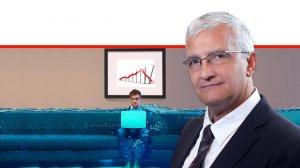 אורי בארי, רואה חשבון מקבוצת 'אליוט' Alliott Group Israel ברקע: בעל עסק טובע בקשיים כלכליים |עיבוד צילום ממחושב: שולי סונגו©
