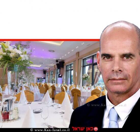 ארז קמיניץ המשנה ליועץ המשפטי לממשלה (משפט אזרחי) ברקע: אולם חתונות ריק מאדם | עיבוד צילום: שולי סונגו ©