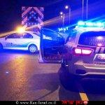 ניידות משטרת ישראל בפעולה | צילום: דוברות המשטרה | עיבוד צילום: שולי סונגו ©