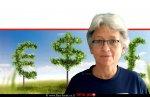 ברכה גל מנהלת תחום כלכלת ייצור בשירות ההדרכה והמקצוע (שהמ) של משרד החקלאות ברקע: כסף זר 'כלכלה בחקלאות'| עיבוד צילום: שולי סונגו ©