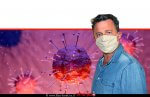 גבר עם מסכה נגד מחלת נגיף קורונה covid-19 | עיבוד צילום: שולי סונגו ©