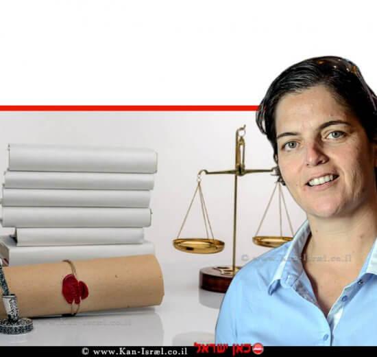עורכת דין סיגל יעקבי, האפוטרופסה הכללית, הכונסת הרשמית, רשם לענייני ירושה, ברקע: צוואה חתוּמה | עיבוד: שולי סונגו ©