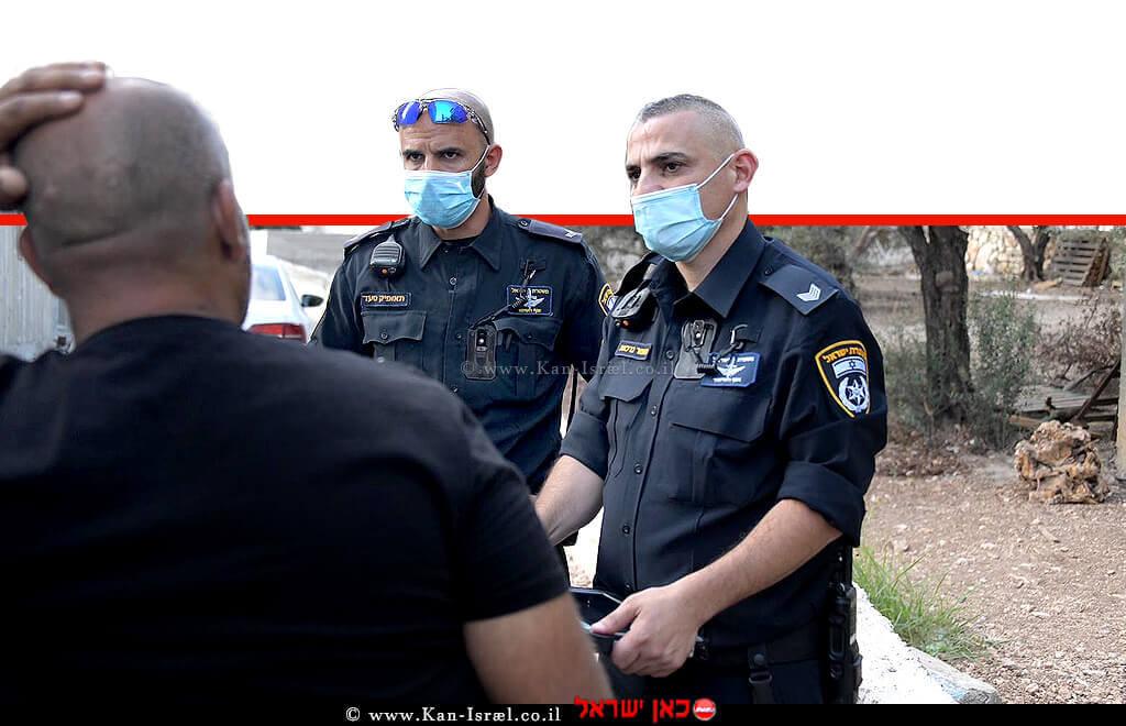 שוטרי משטרת ישראל בפעילות פיקוח ואכיפה | צילום ארכיון: דוברות המשטרה