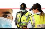 מפעילות המשטרה לבלימת התפשטות נגיף הקורונה בישראל במהלך ימי חג ראש השנה 2020 | צילום: דוברות המשטרה | עיבוד: שולי סונגו ©