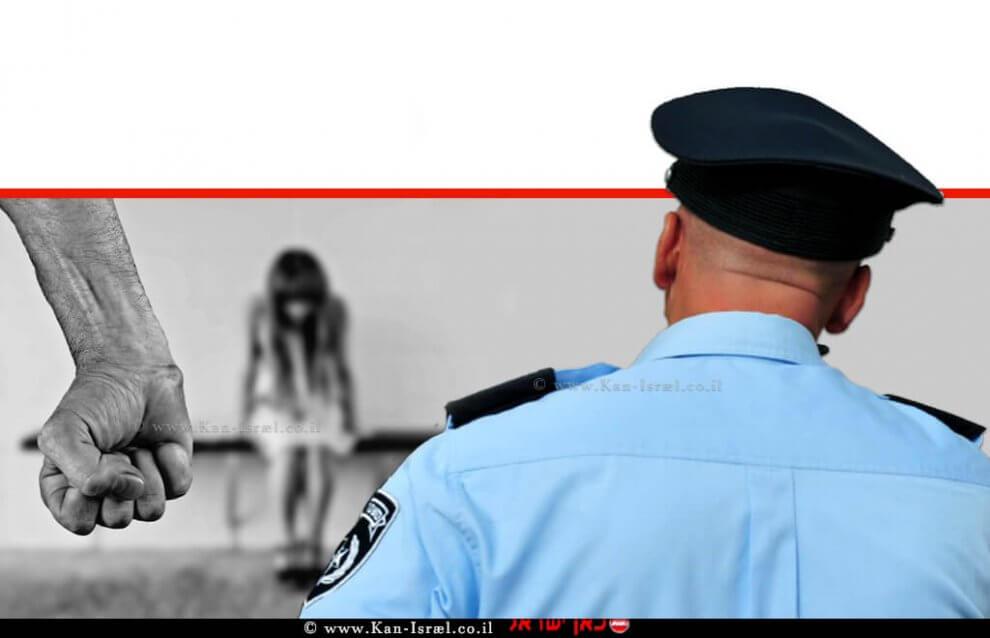שוטר מואשם במעשה מגונה בכוח בשוטרת בת 19, אילוסטרצייה | עיבוד: שולי סונגו ©