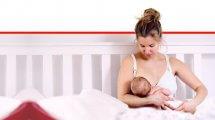 אישה מניקה את תינוקה | עיבוד צילום: שולי סונגו ©