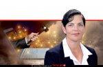 עורכת דין סיגל יעקבי האפוטרופסה הכללית ו-הממונה על הליכי חדלות הפירעון במשרד המשפטים, ברקע: 'המהפכה הדיגיטלית' בשירותים הניתנים | עיבוד צילום: שולי סונגו ©