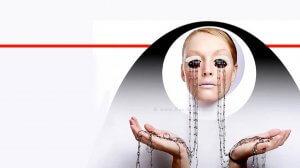 איפור עיניים לרגל שנת 2021 החדשה על ידי ירין שחף מנהל בית הספר למקצועות היופי | צילום: אלכס פרגמנט | עיבוד צילום: שולי סונגו ©