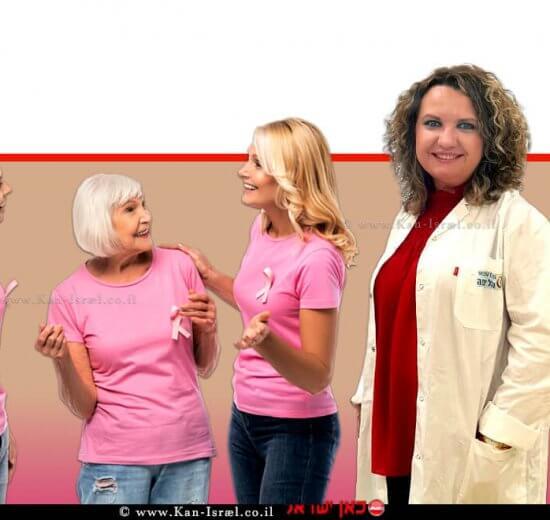 דר' ולריה סמניסטי, מנהלת המכון האונקולוגי במרכז הרפואי הלל יפה רקע: נשים עם סרטן השד | עיבוד צילום: שולי סונגו ©