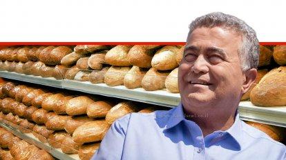 שר הכלכלה והתעשייה, עמיר פרץ, ברקע: כיכרות לחם על המדפים | צילום: Stock Image & Photo | עיבוד צילום: שולי סונגו ©