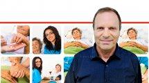 משה בר-חיים מנכל האגודה למלחמה בסרטן, ברקע סיוע ותמיכה לחולי סרטן | עיבוד ממחושב: שולי סונגו©