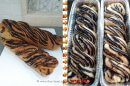 עוגת שמרים במילוי קקאו וקינמון