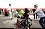 נגישות לבעלי מוגבלויות לבתי העלמין הצבאיים ביום הזיכרון מטעם משרד הביטחון | צילום: ארגון יד שרה | עיבוד: שולי סונגו©