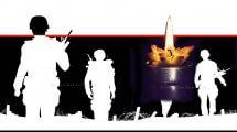 יום הזיכרון לחללי צהל הדלקת נר לזיכרם| עיבוד ממחושב: שולי סונגו©