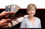 הממונה על התחרות, עורכת דין מיכל הלפרין ברקע: כרטיסי אשראי| עיבוד: שולי סונגו©
