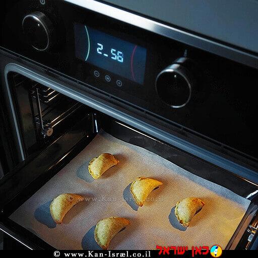 אמפנדות מפול, נבטי שום ועולשברקע: תנור אפיה ממותג מוצרי חשמלTEKA   עיבוד ממחושב: שולי סונגו ©