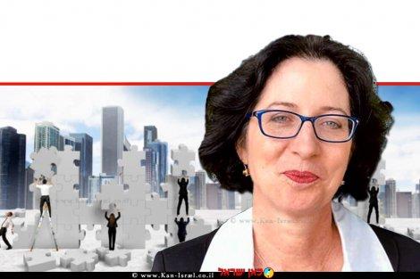 עורכת דין סיגל גולן-עתיר, רשמת החברות של מדינת ישראל | עיבוד ממחושב: שולי סונגו©
