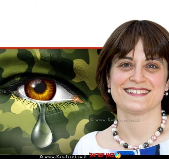 פרופ' לאה פוסטיק חוקרת ומרצה במחלקה להפרעות תקשורת אוניברסיטת אריאל ברקע: חייל עם פוסט טראומה | צילום: Depositphotos |עיבוד צילום: שולי סונגו ©