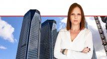 ליאת טלר סמנכלית איכות קבוצת בסט ברקע: בניניי תאומי-רובינשטיין בתל-אביב | צילום: איתמר סיידא | עיבוד צילום ממחושב: שולי סונגו©