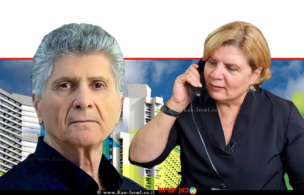 אורנה ברביבאי שרת הכלכלה ומר פליצה-פנחס-פלד יושב ראש תנועת אומץ | עיבוד צילום ממחושב: שולי סונגו©