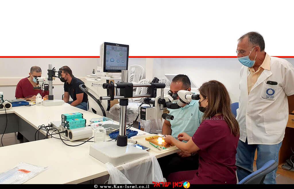 מרכז רפואי הלל יפה, קיים כנס בינלאומי בנושא חידושים ב-ניתוחי גלאוקומה והשתלמויות מקצועיות גם בזמן הקורונה | עיבוד צילום: שולי סונגו ©