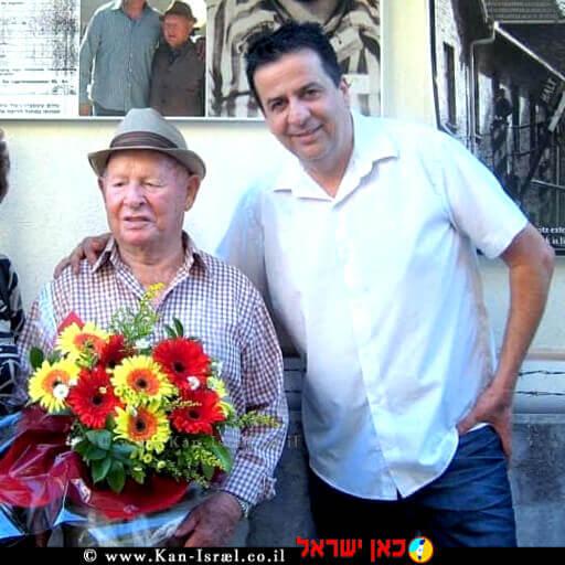 שלום שטמברג זל ומנכל עמותת יד עזר לחבר, שמעון סבג   עיבוד צילום: שולי סונגו ©