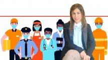 עורכת דין סיגל סוּדאי, מנהלת האגף ליחסי עבודה של איגוד לשכות המסחר עם פירוט זכויות העובדים במהלך החגים בהתאם להסדרים השונים | עיבוד צילום: שולי סונגו ©