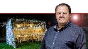 איגור דוסקלוביץ הממונה על התקינה ומנהל מינהל התקינה של משרד הכלכלה והתעשייה ברקע: סוכה | עיבוד צילום: שולי סונגו ©