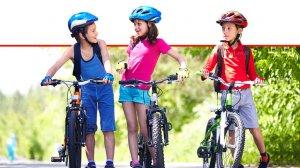 ילדים רוכבים על אופניים, טיפים לרכיבה בטוּחה | צילום: Depositphotos |עיבוד צילום: שולי סונגו ©