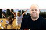 פרוספר עזרן בטור אישי על זעקי ארץ אהובה ברקע: ילדים עם דגל מדינת ישראל | עיבוד צילום: שולי סונגו ©