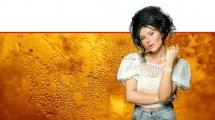 איפור ירין שחף לחגי תשרי, מראה מרקם מבריק כמו דבש לשנה טובה   צילום: מריה סלוביוב   עיבוד צילום: שולי סונגו ©